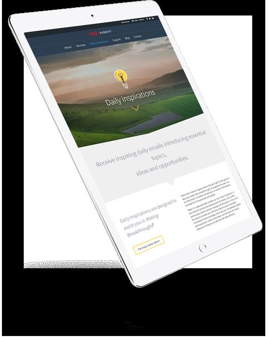 Website Design FAQ Support