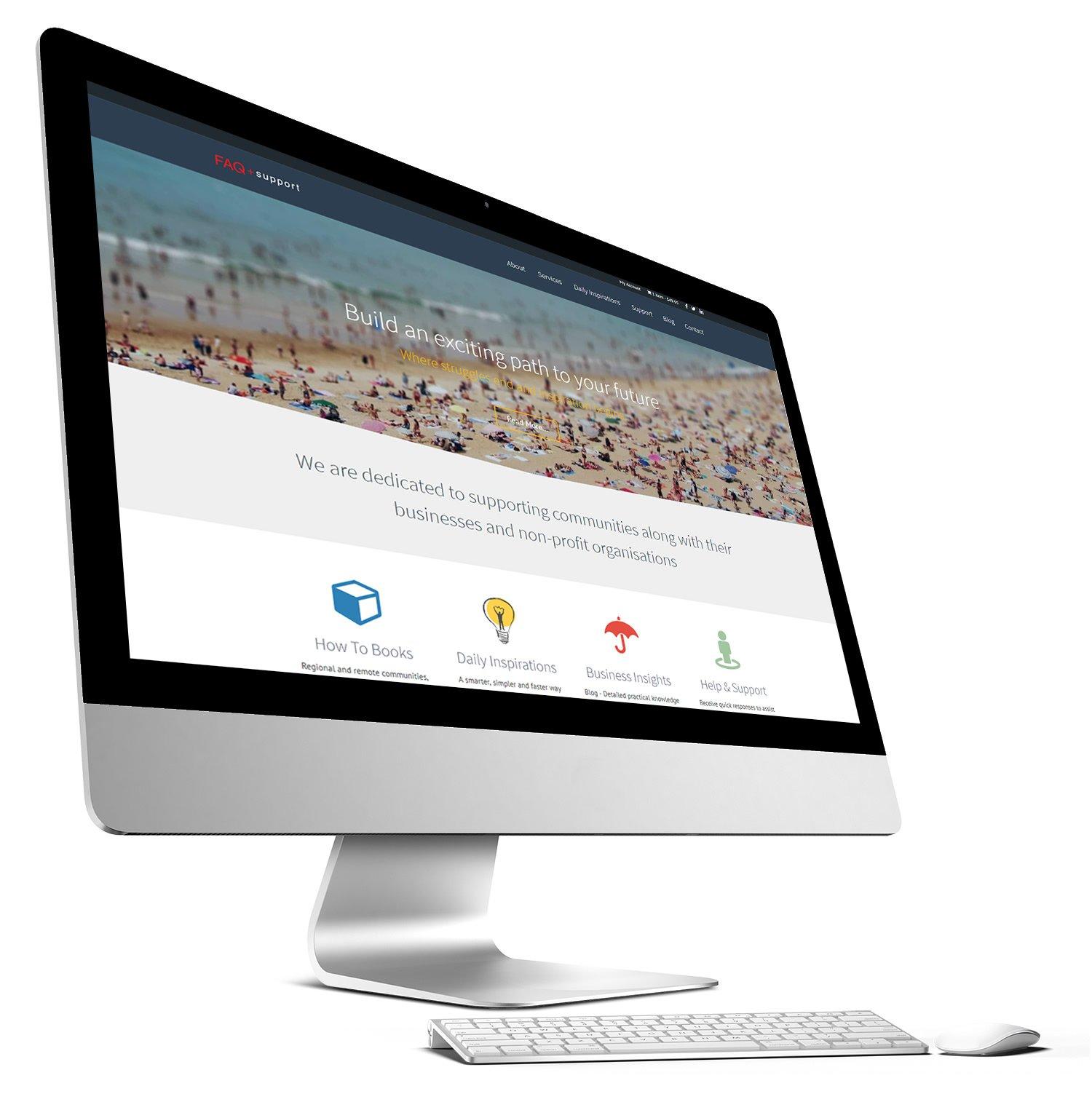 Website Design - FAQ Support
